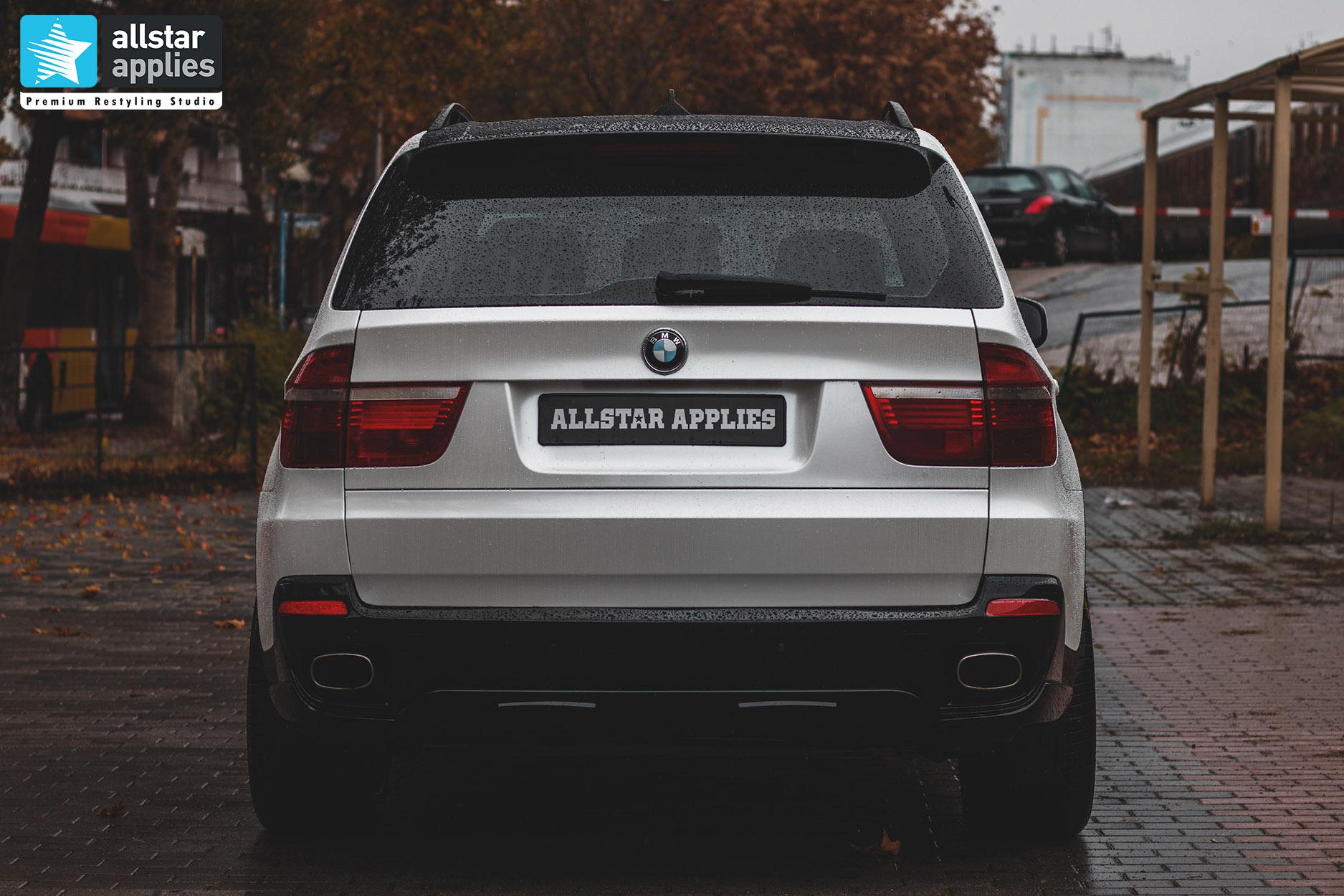 BMW X5 WHITE METALLIC 11