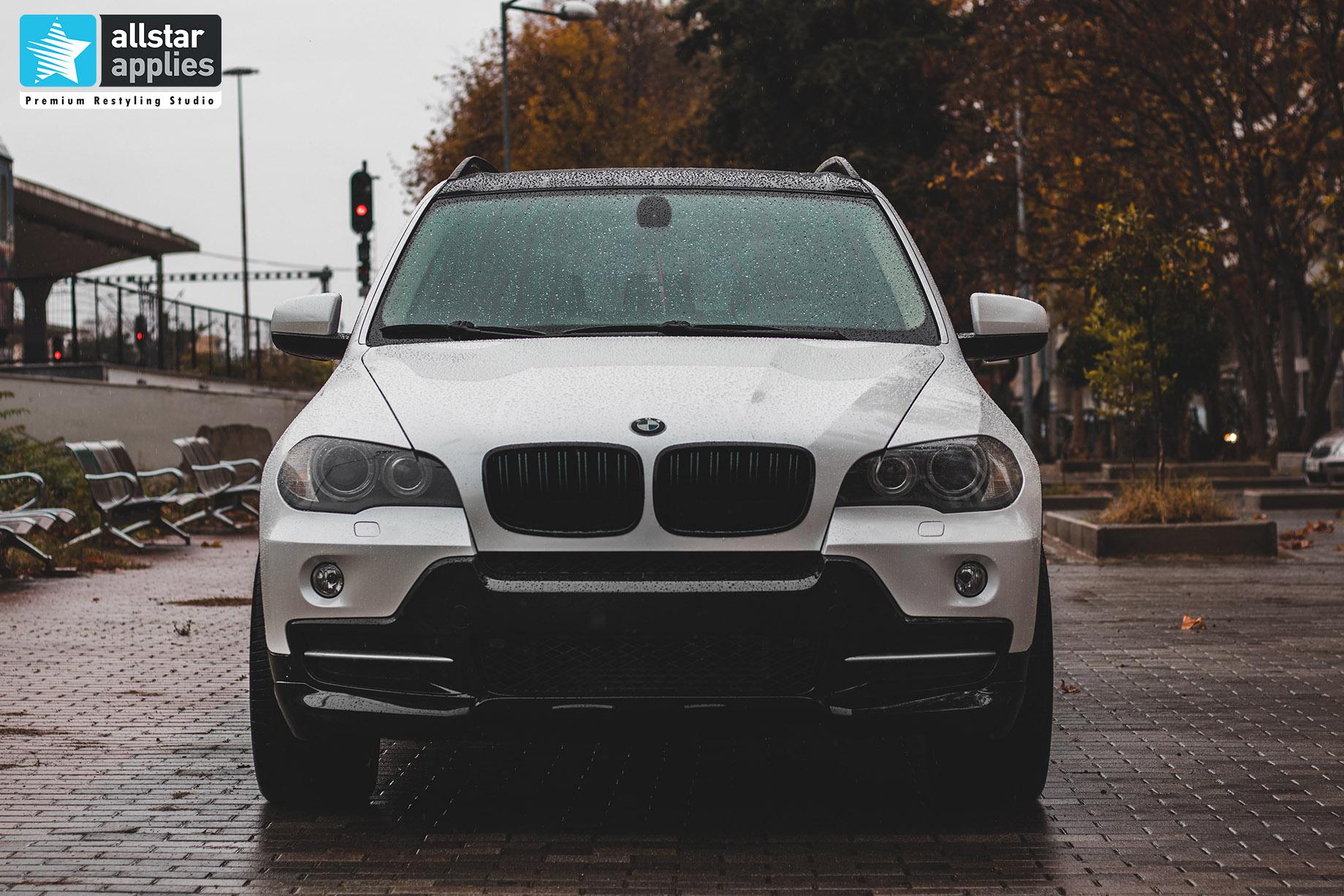 BMW X5 WHITE METALLIC 12