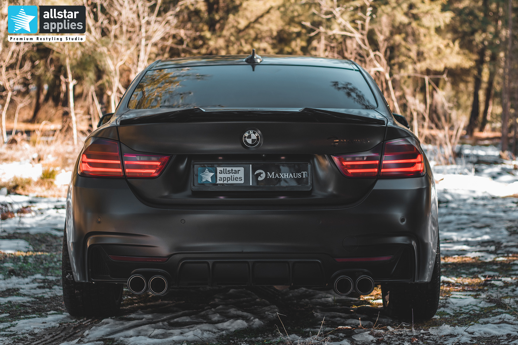 BMW 4 SERIES SATIN BLACK 11