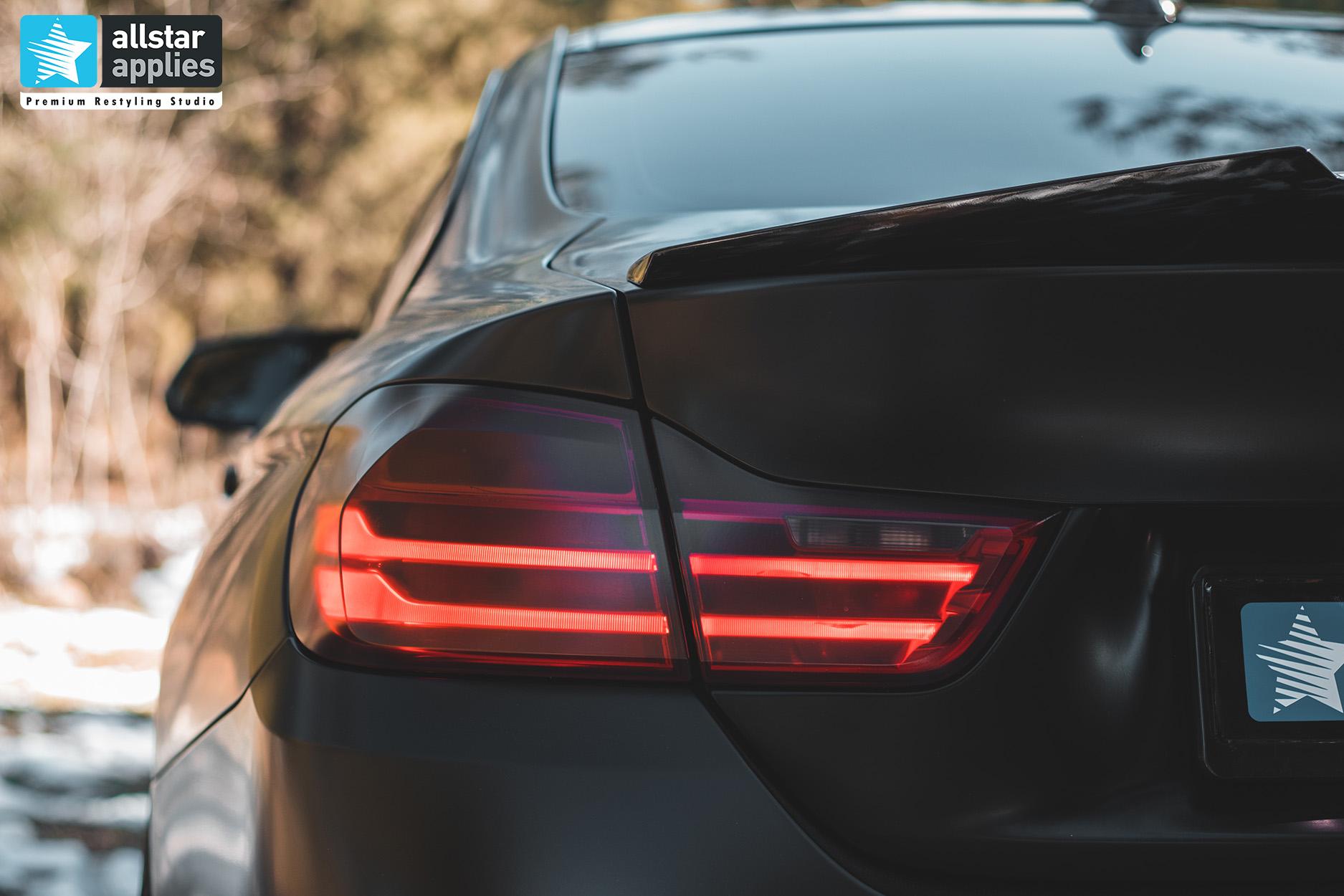 BMW 4 SERIES SATIN BLACK 12