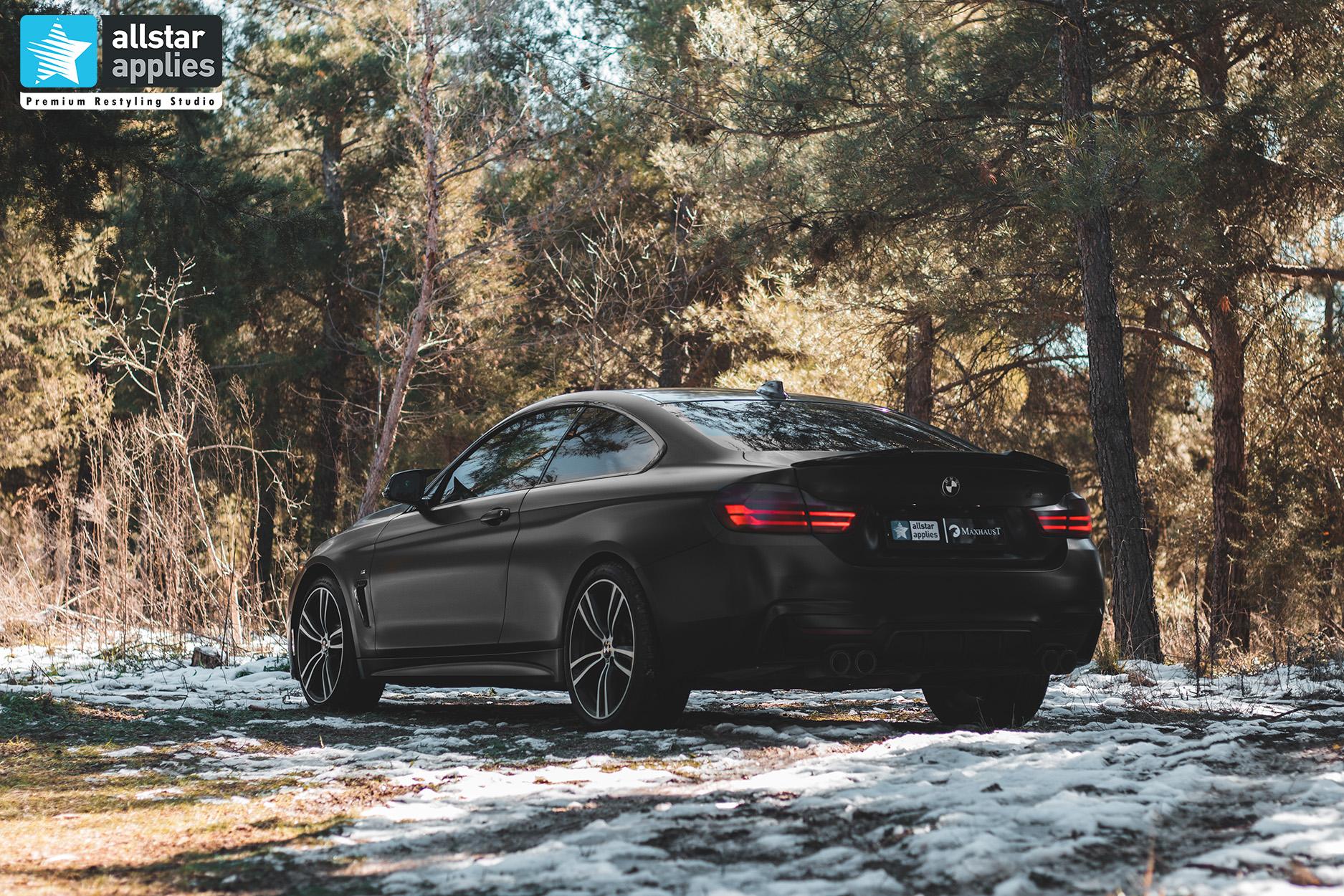 BMW 4 SERIES SATIN BLACK 14