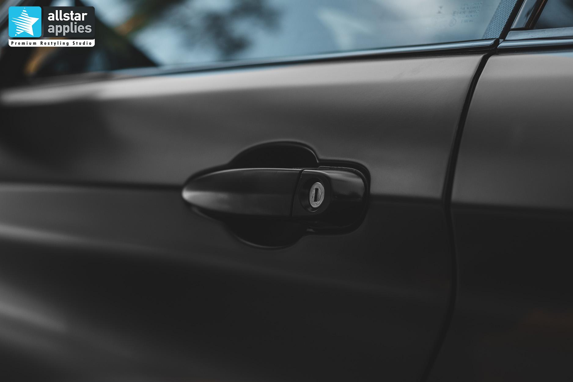 BMW 4 SERIES SATIN BLACK 15