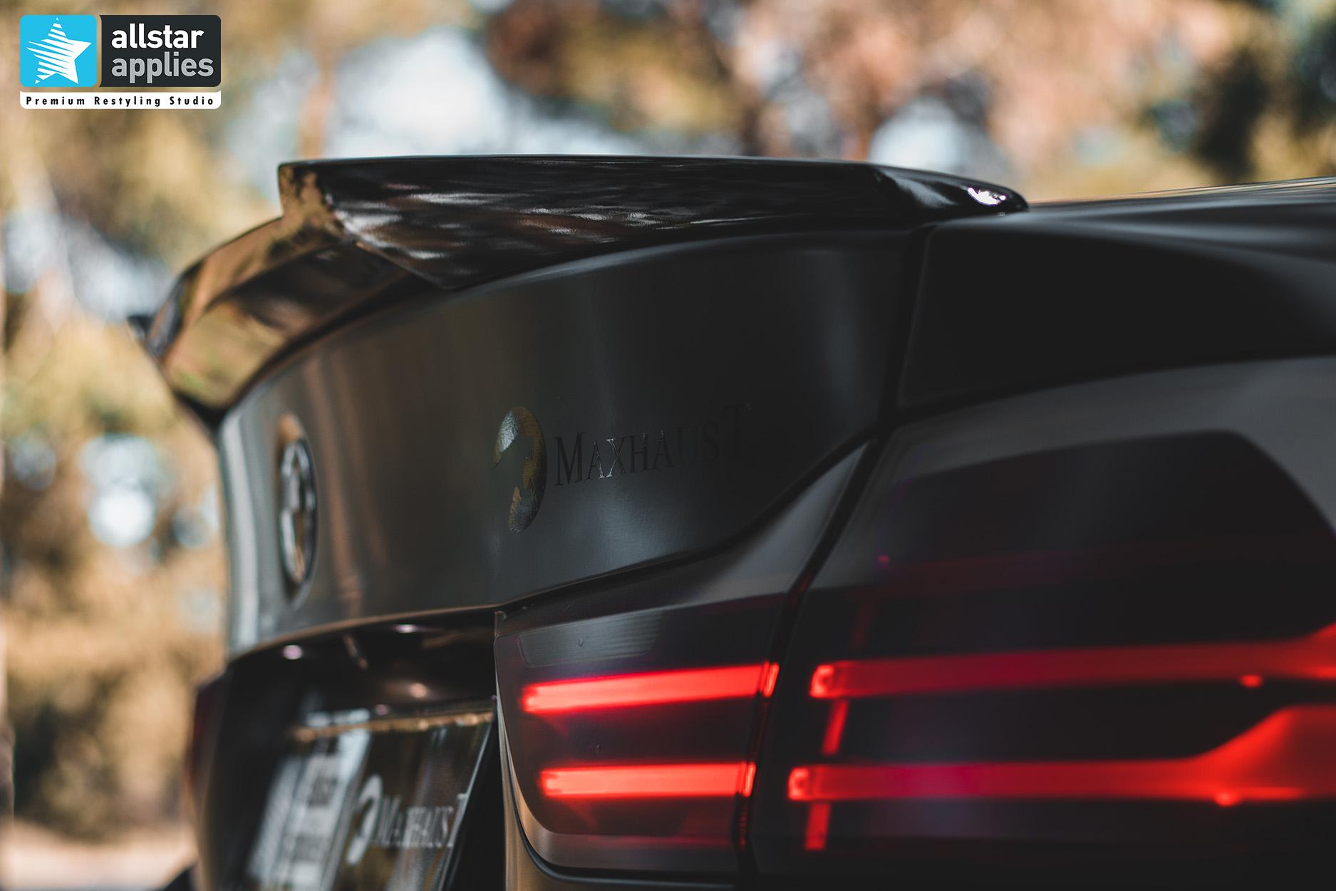 BMW 4 SERIES SATIN BLACK 18