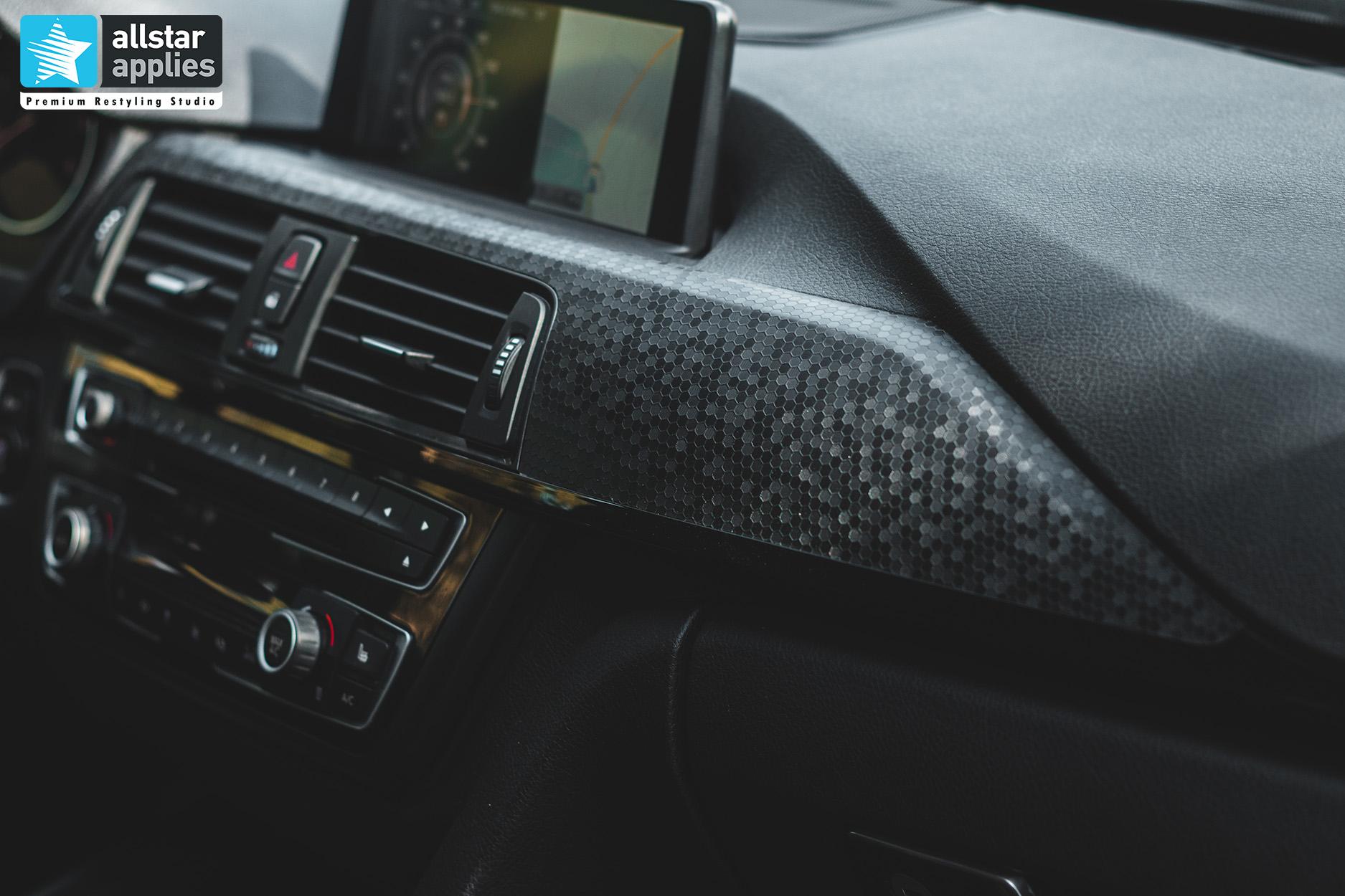 BMW 4 SERIES SATIN BLACK 19