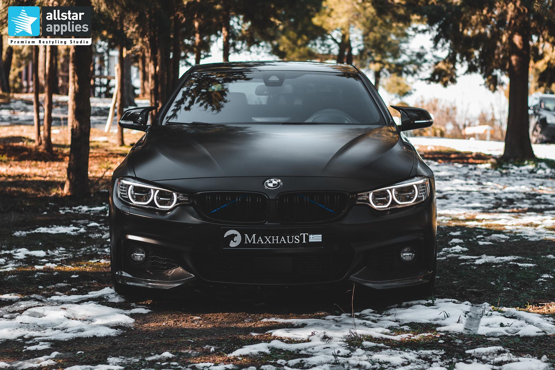 BMW 4 SERIES SATIN BLACK 22