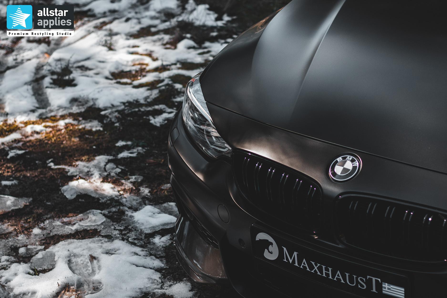 BMW 4 SERIES SATIN BLACK 25