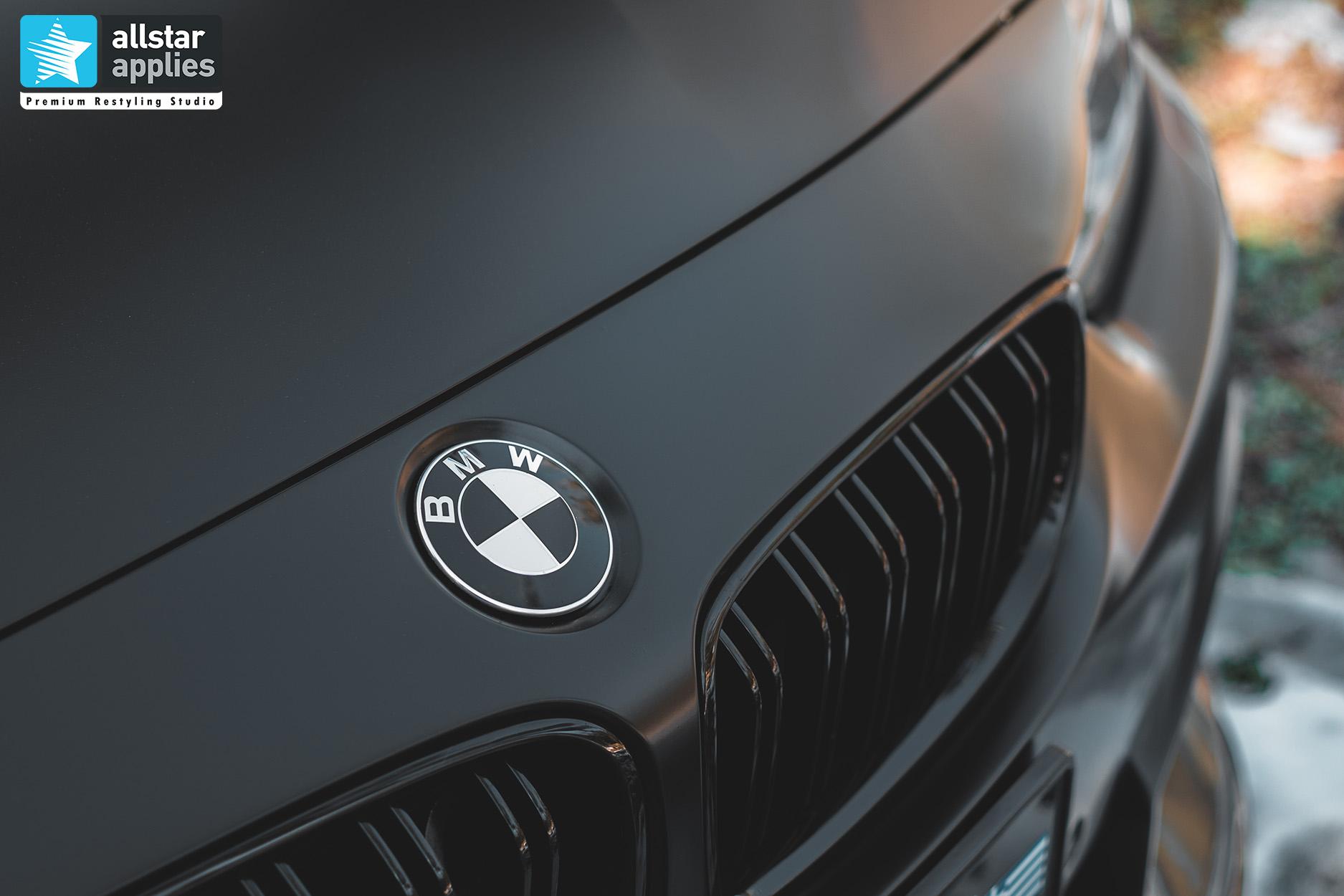 BMW 4 SERIES SATIN BLACK 8