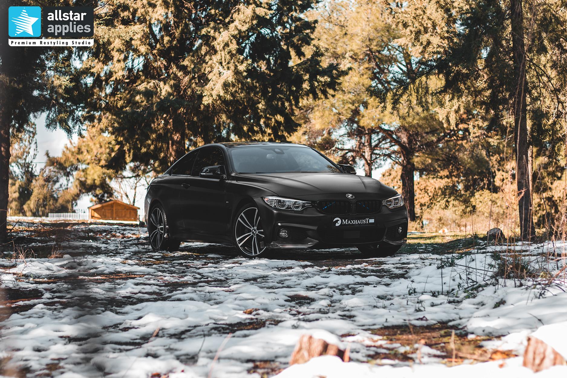 BMW 4 SERIES SATIN BLACK 9