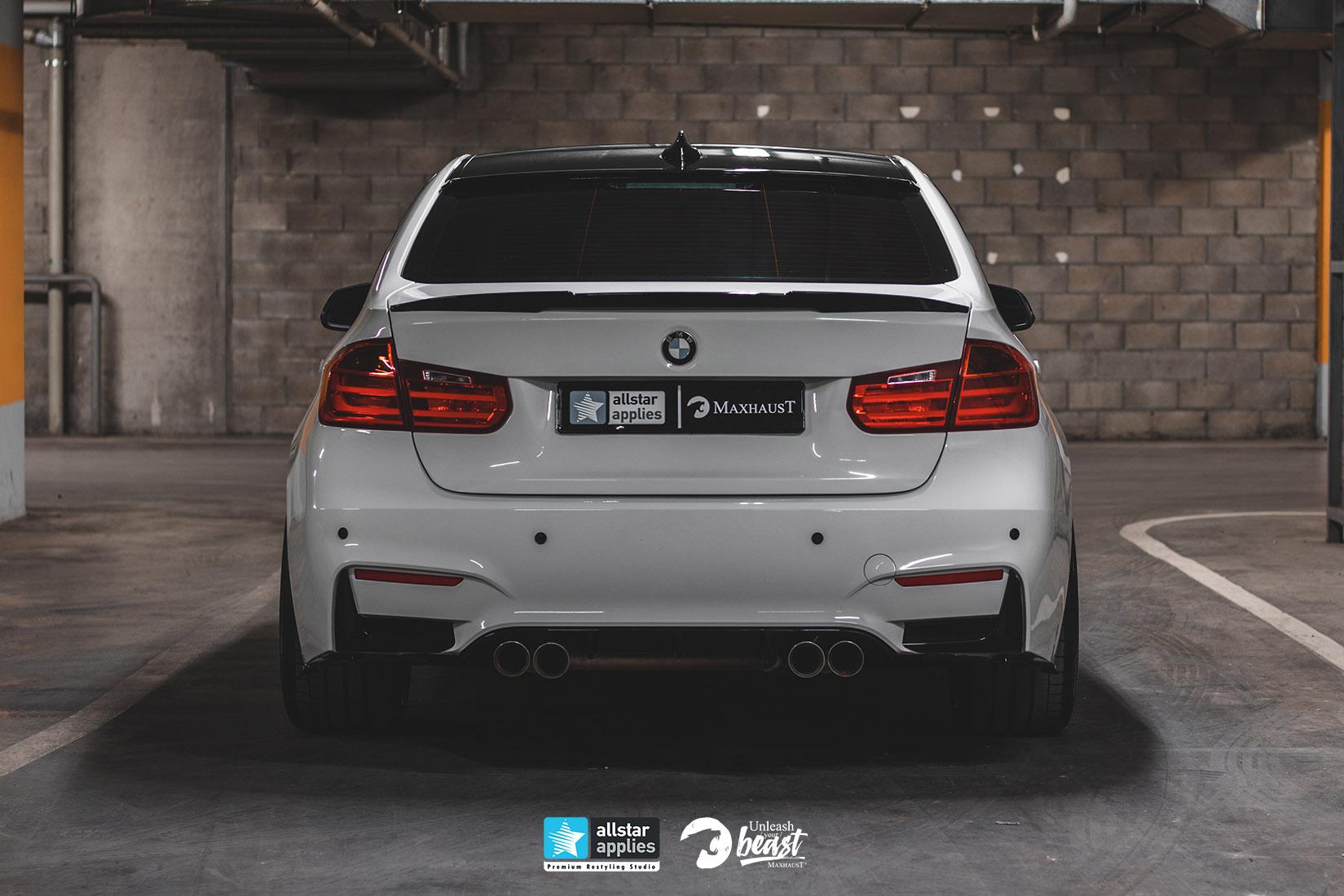 BMW 3 SERIES MAXHAUST 1