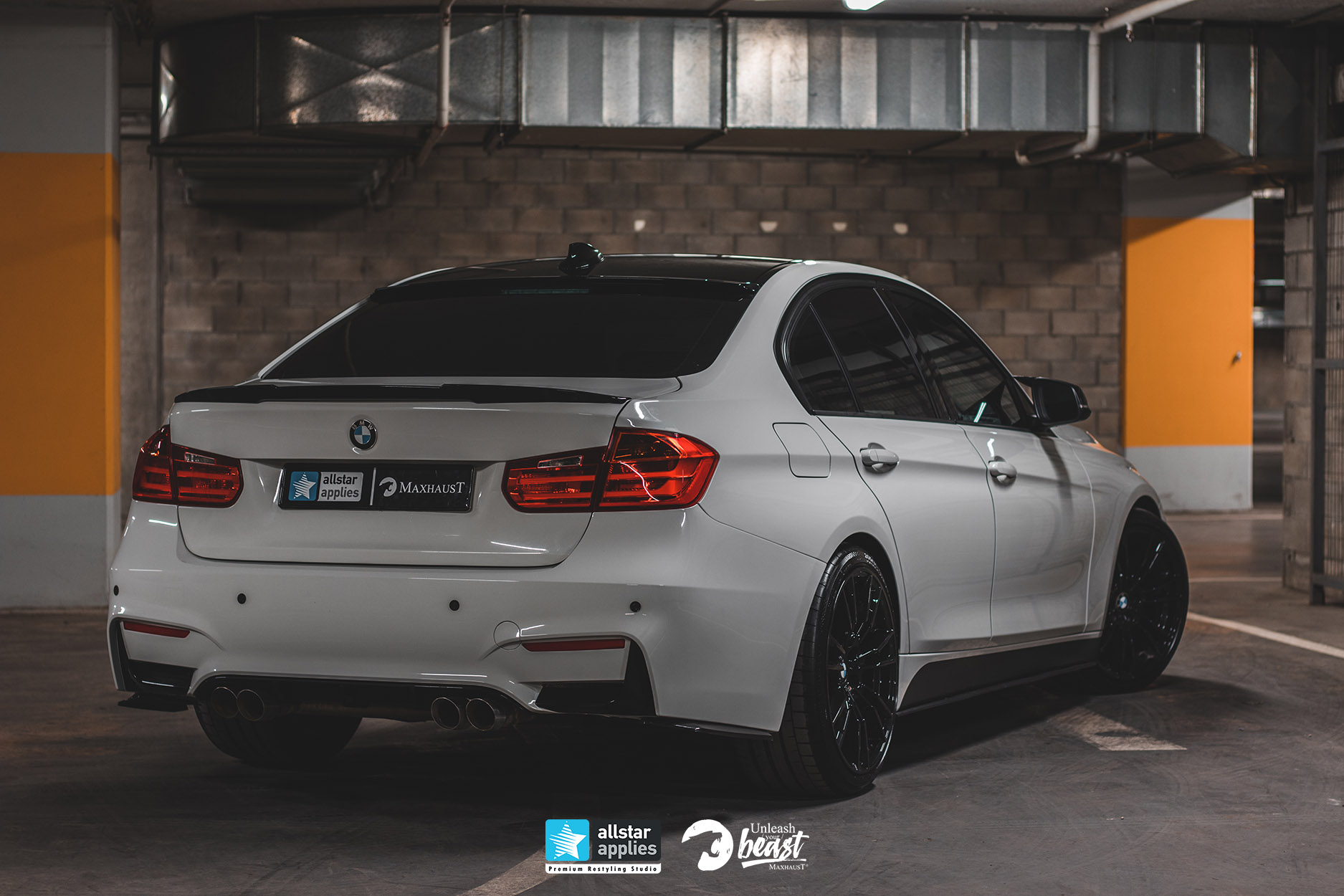 BMW 3 SERIES MAXHAUST 4