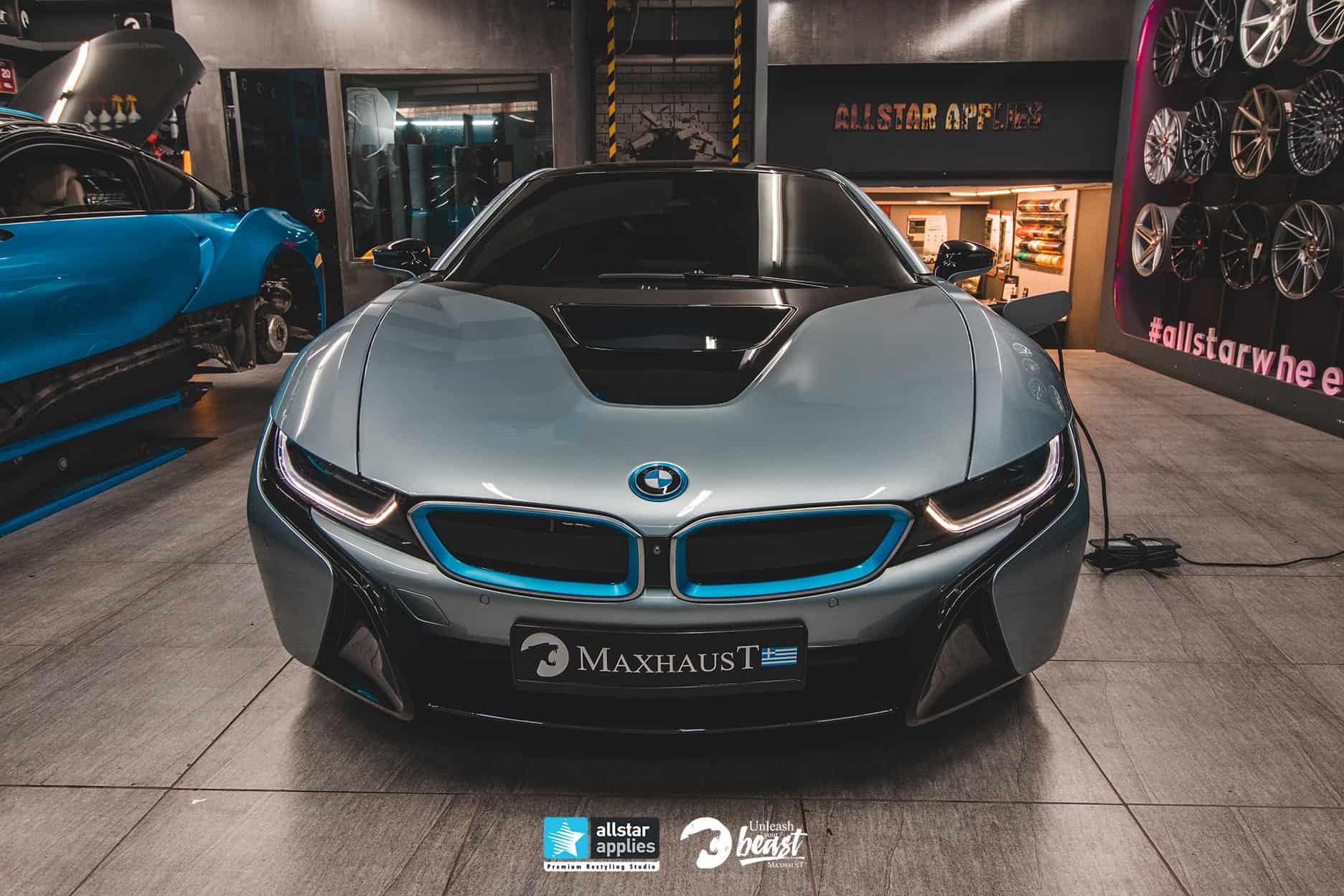 BMW I8 MAXHAUST 1