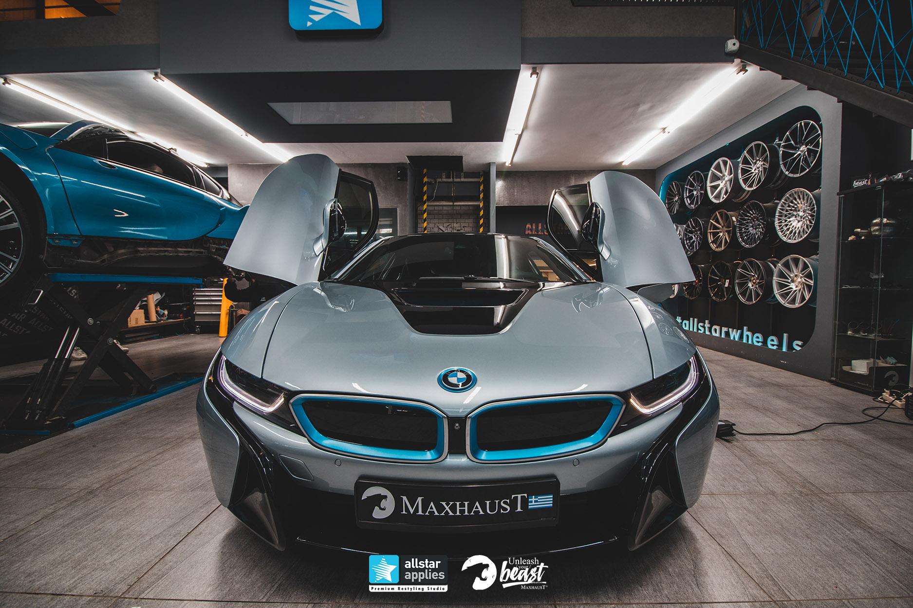 BMW I8 MAXHAUST 3
