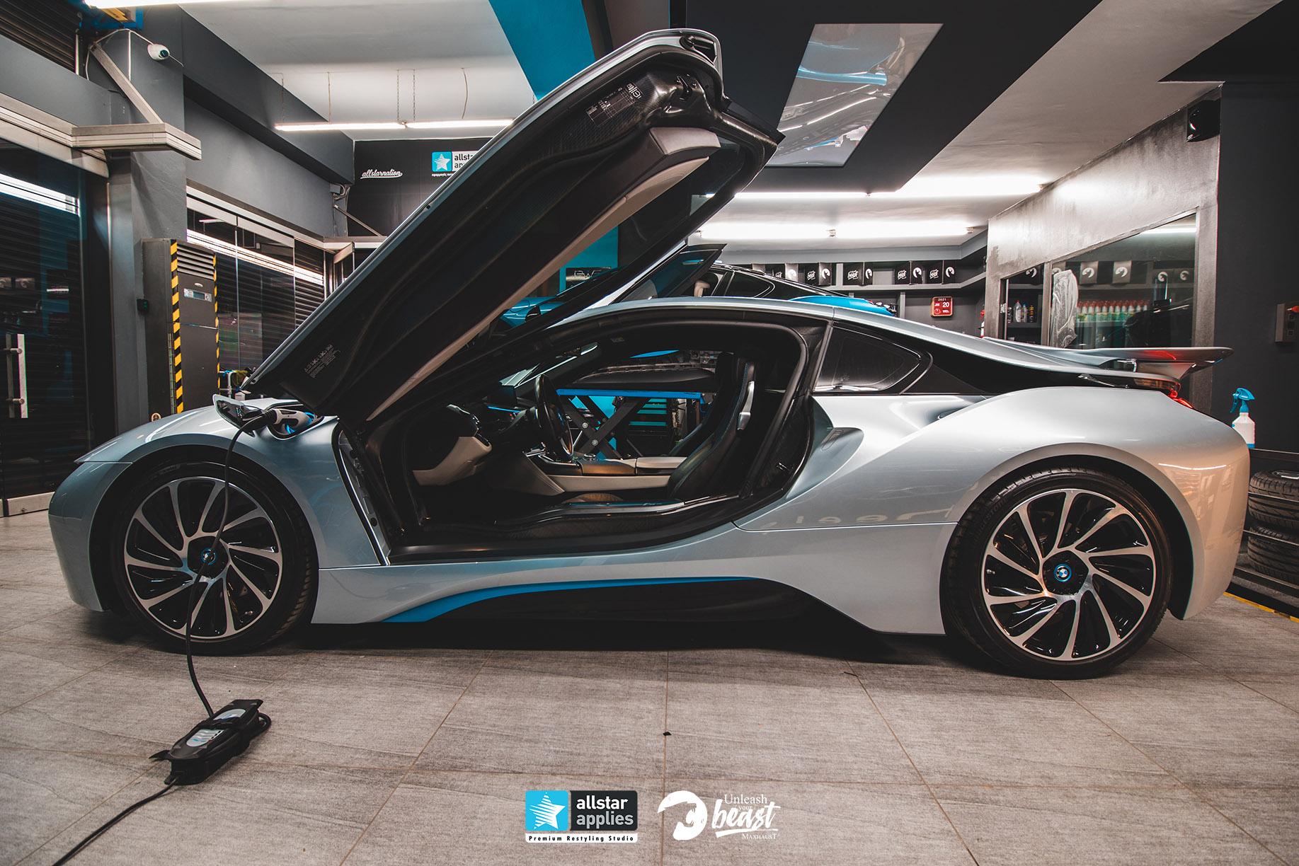 BMW I8 MAXHAUST 4