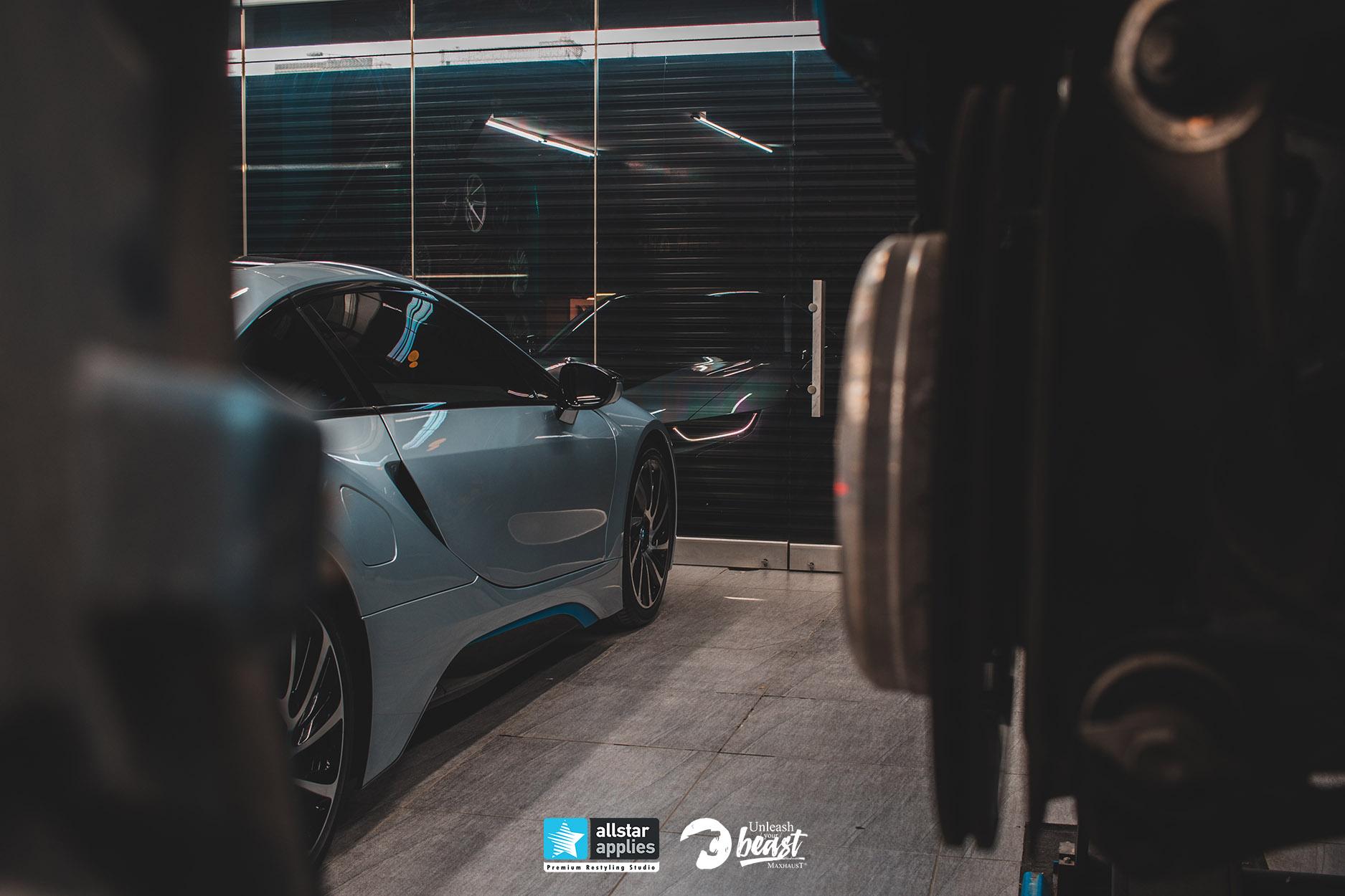 BMW I8 MAXHAUST 5