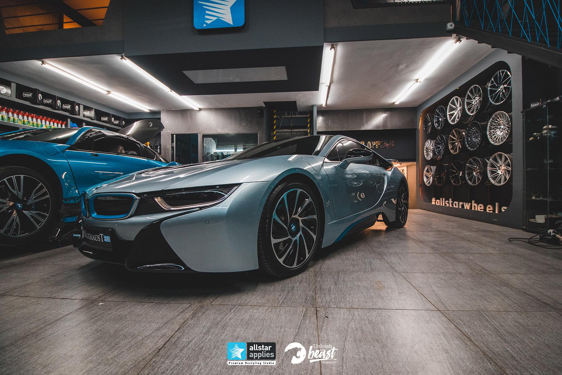 BMW I8 MAXHAUST 7