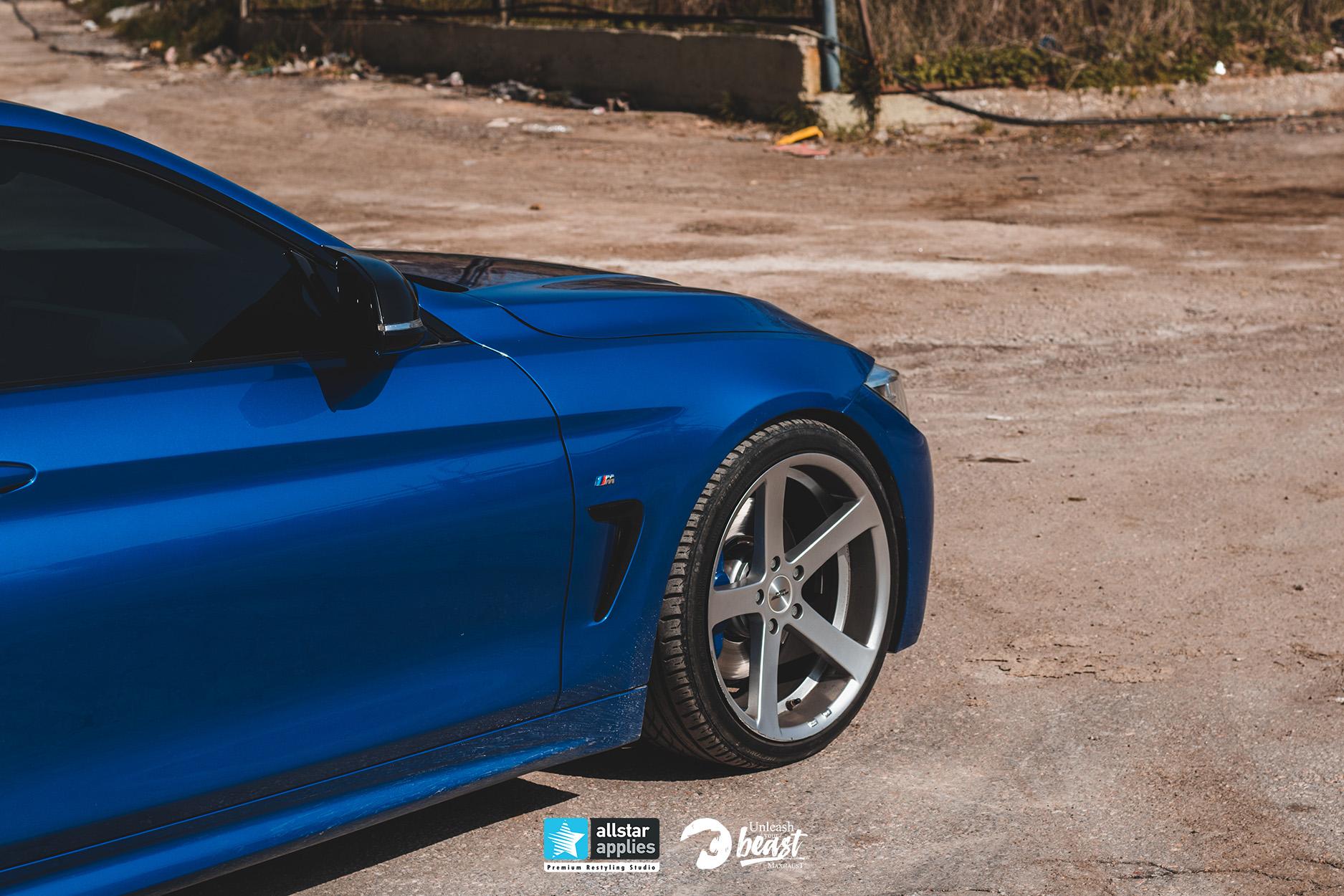 BMW MAXHAUST M4 1