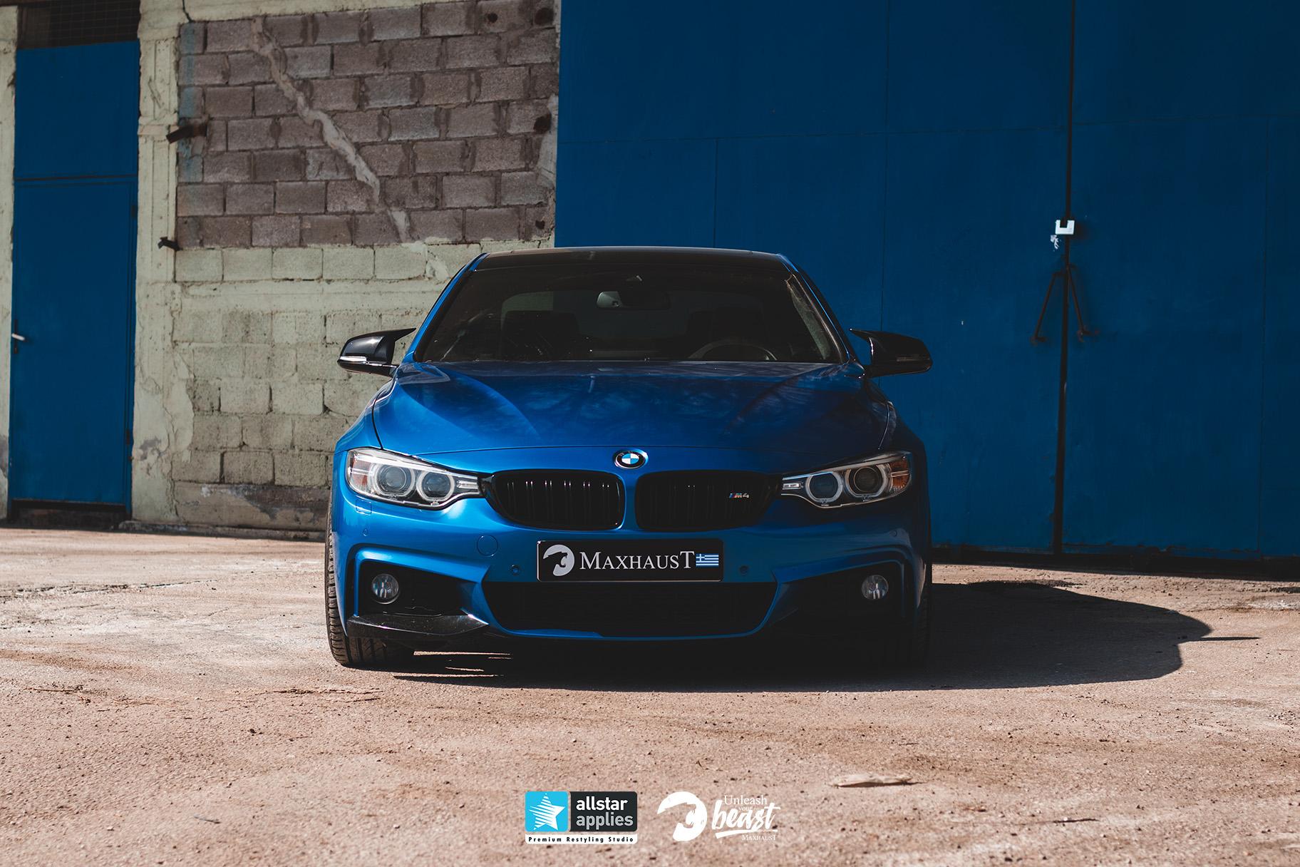 BMW MAXHAUST M4 3