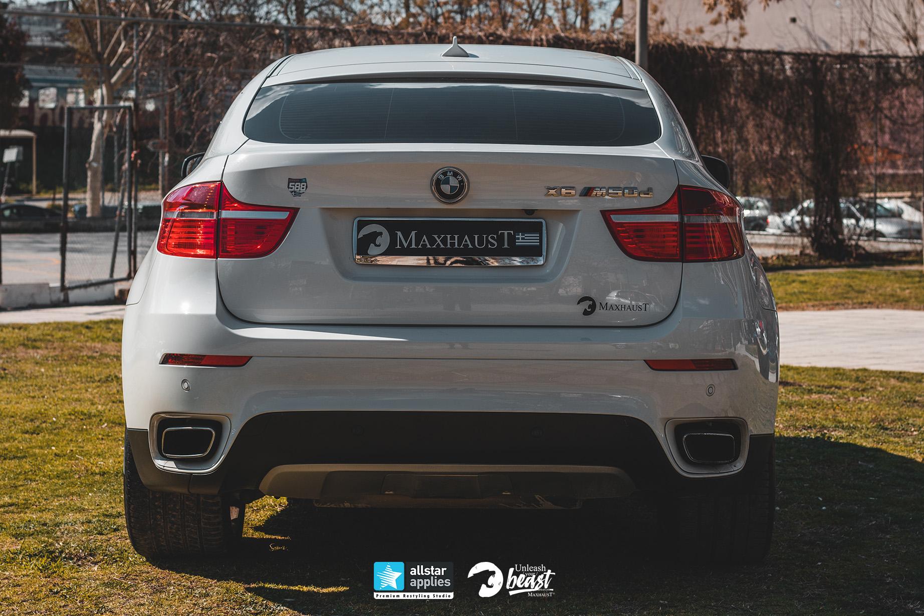 BMW X6 MAXHAUST 4