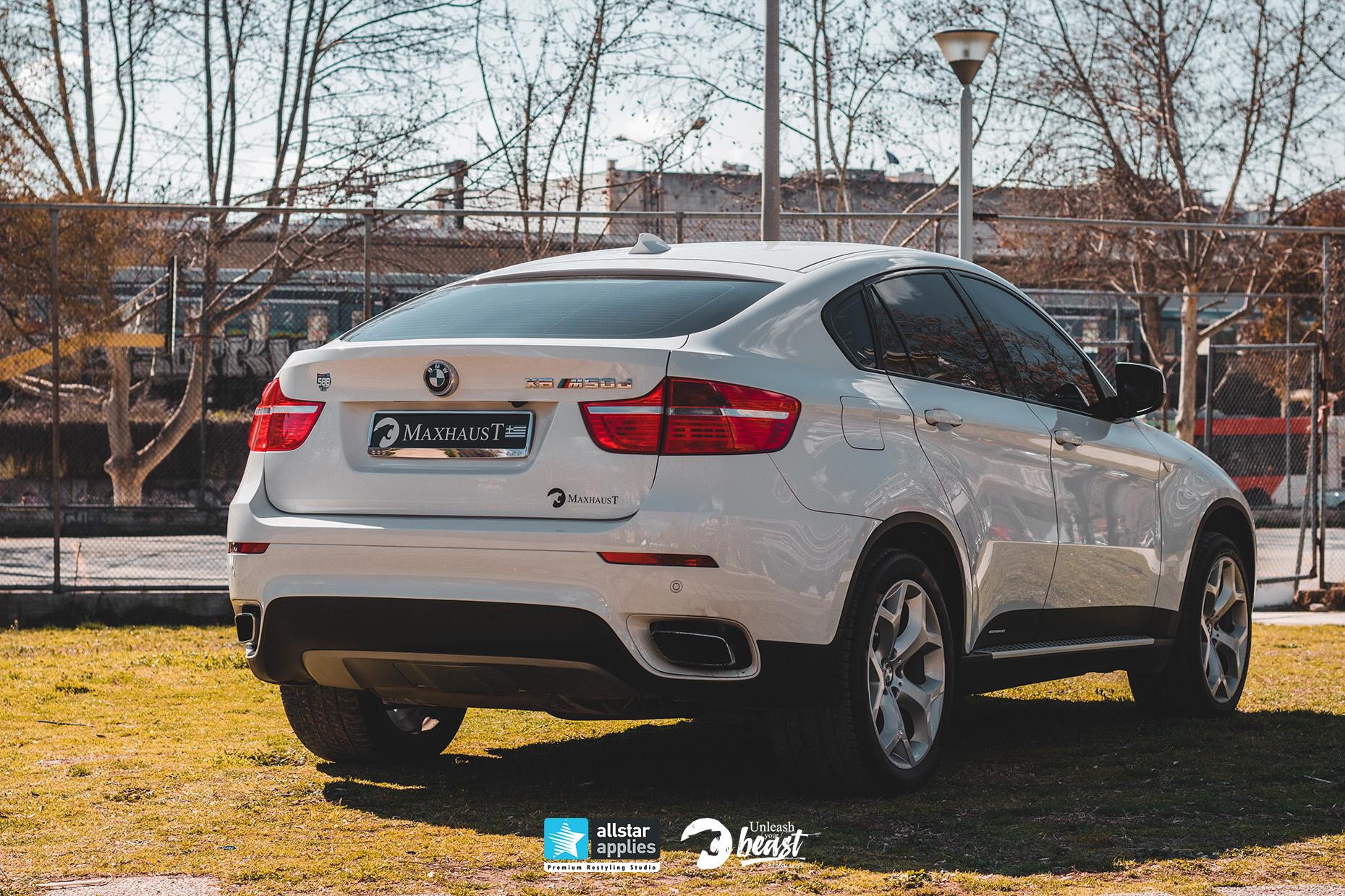 BMW X6 MAXHAUST 5