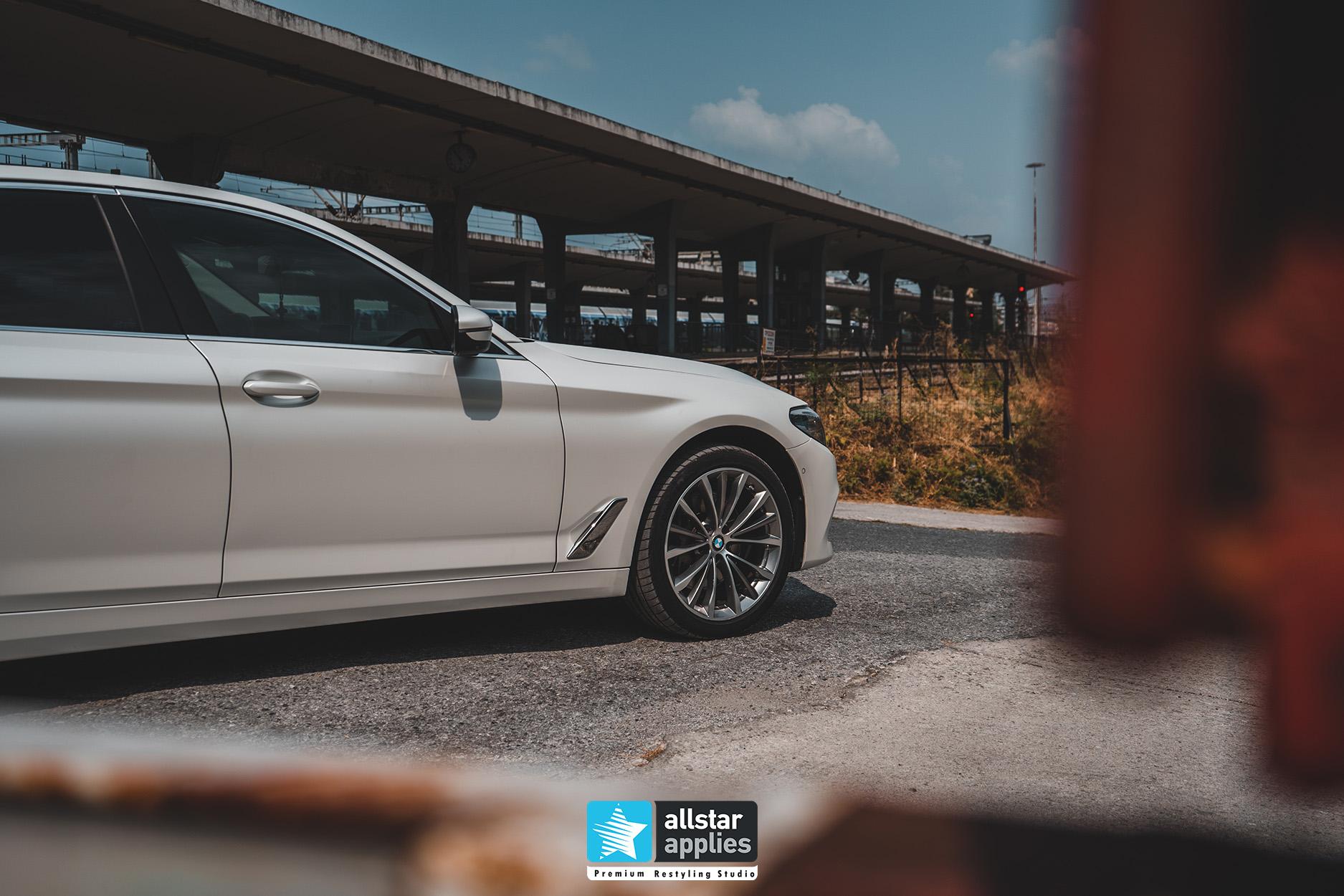 BMW 5 SERIES PWF WHITE 11