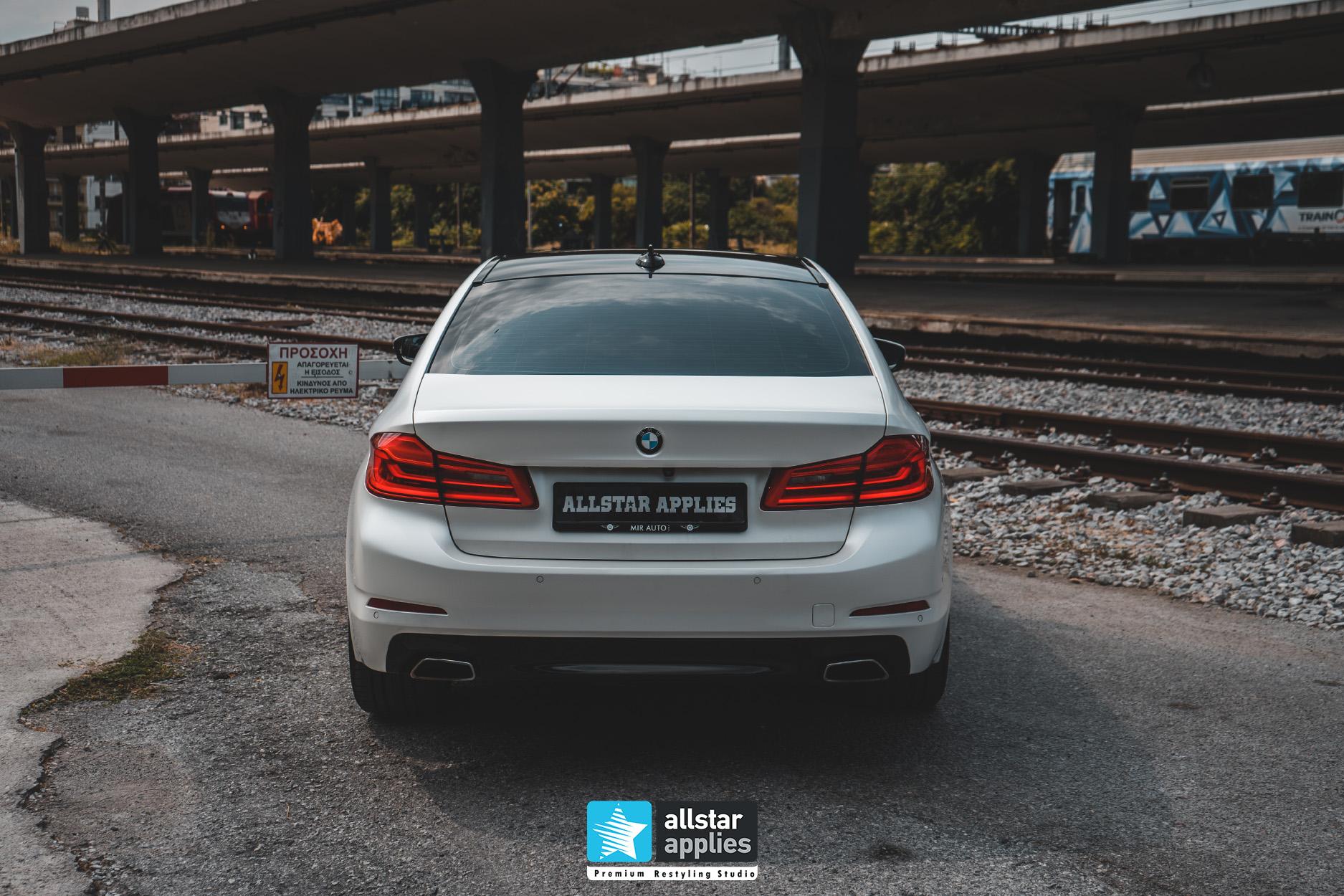 BMW 5 SERIES PWF WHITE 14