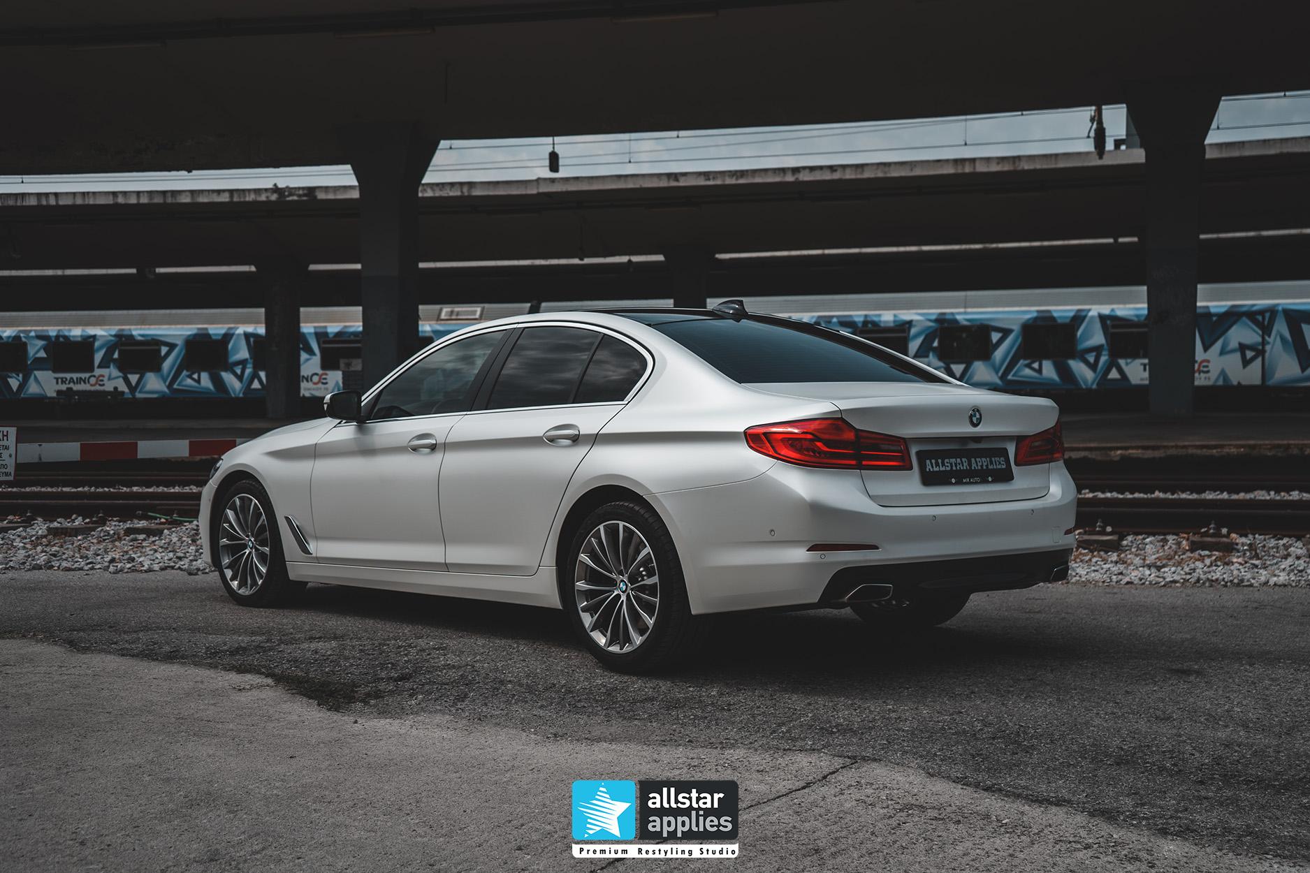 BMW 5 SERIES PWF WHITE 15