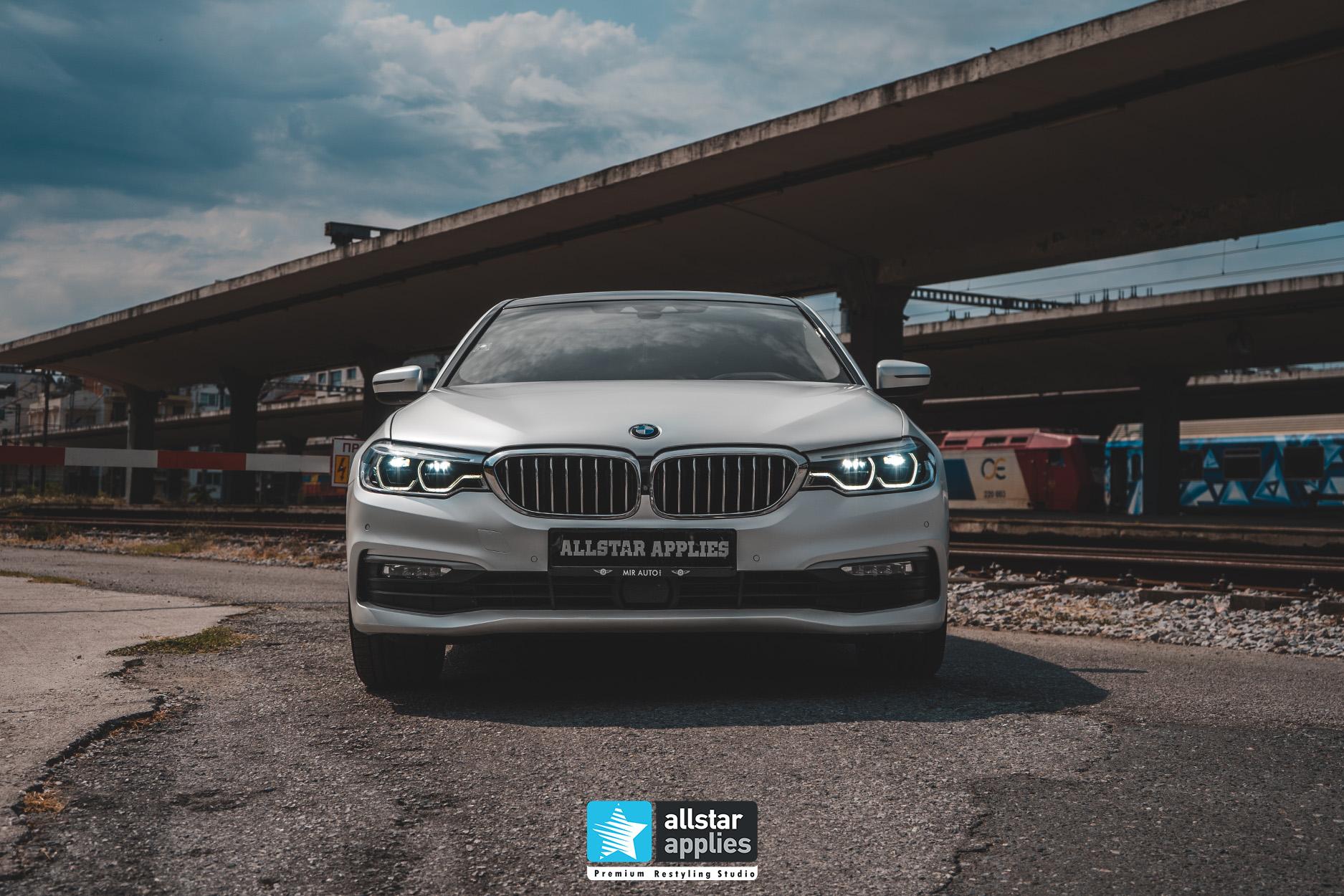 BMW 5 SERIES PWF WHITE 8