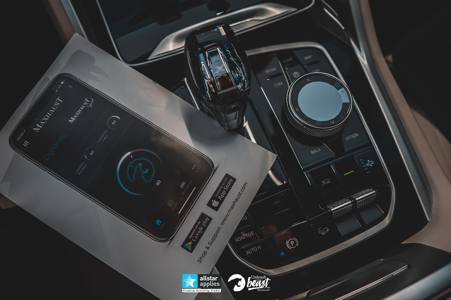 MAXHAUST BMW X6 M50D 2021 3