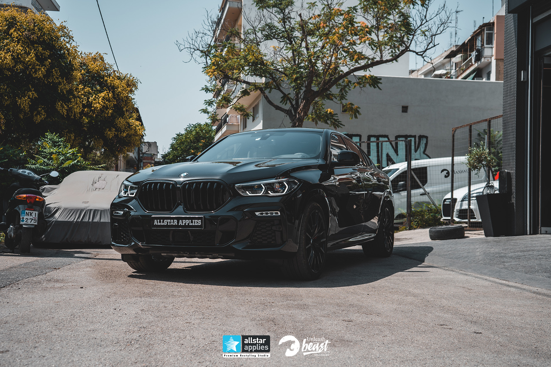 MAXHAUST BMW X6 M50D 2021 8